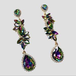 3 / $25 Rhinestone Dangle Earrings